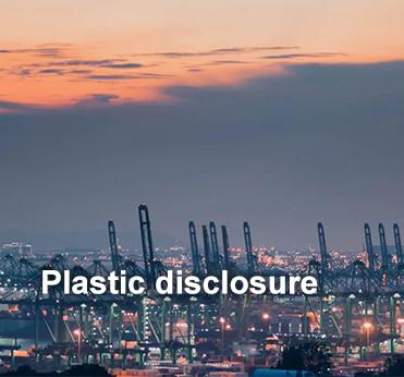Plastic disclosure